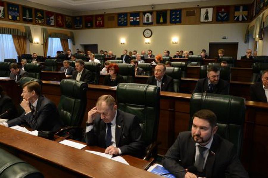 Областной бюджет прошел первое чтение в региональном парламенте