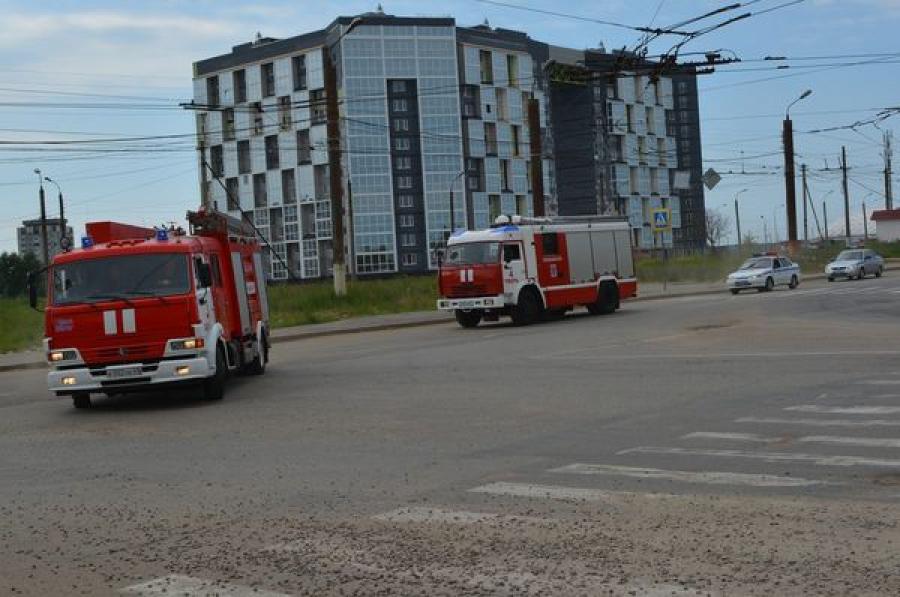 В Твери состоялась акция «Пропусти пожарный автомобиль»