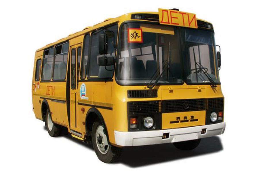 Три сельские школы Калининского района получили новые автобусы