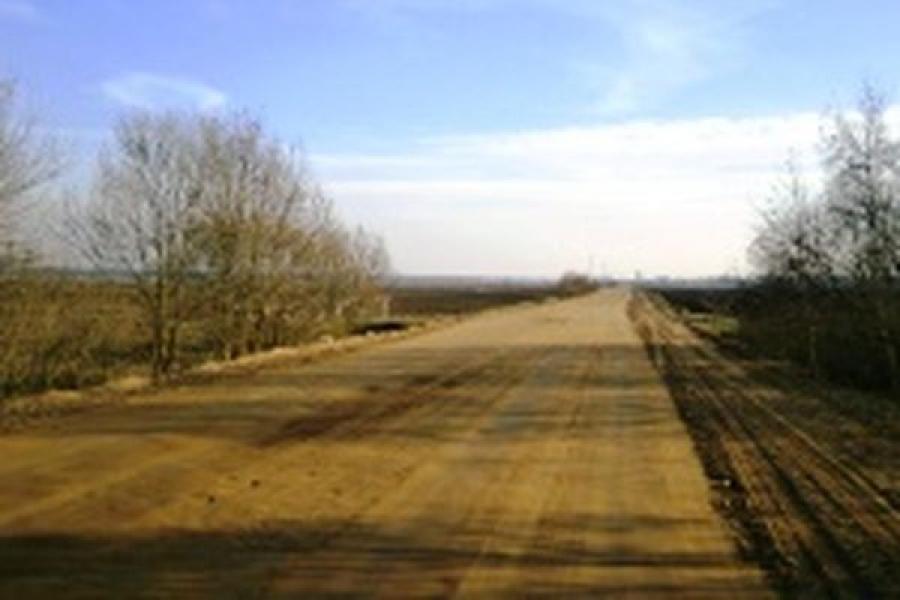 Дорогу Дубровки — Городище в Калининском районе готовят к ремонту