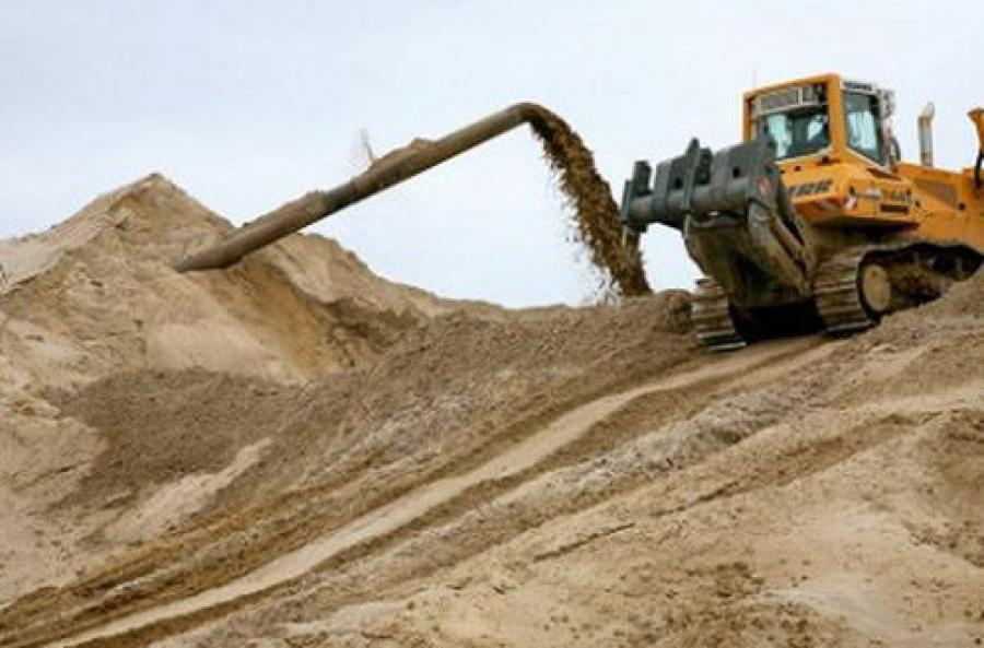 Незаконно добытый песок использовали для строительства скоростной дороги «Москва-Санкт-Петербург»