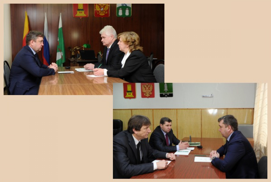 Руководители Бельского и Нелидовского районов доложили главе региона о ситуации в муниципалитетах