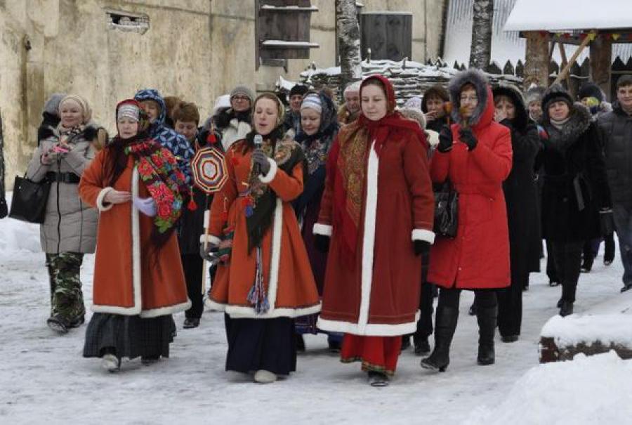В Торжке отпраздновали Святки