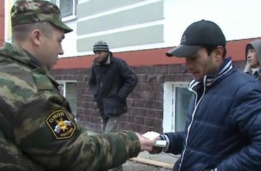 Нарушителей миграционного законодательства искали на стройках в тверском Заволжье