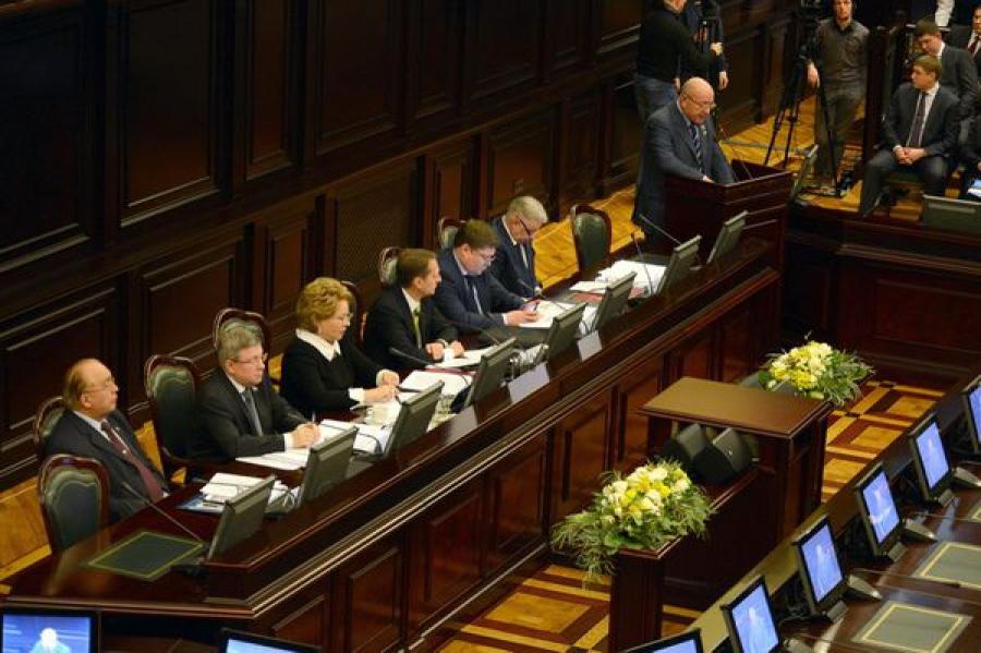 В Совете законодателей, посвященном вопросам миграционной политики, принял участие Андрей Епишин