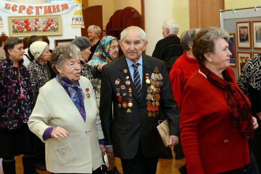 Тверское отделение Союза пенсионеров России принимает поздравления с 20-летием