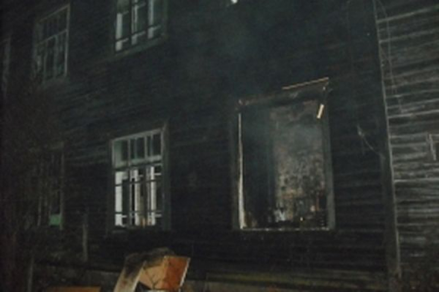 В Конакове на пожаре пострадал человек
