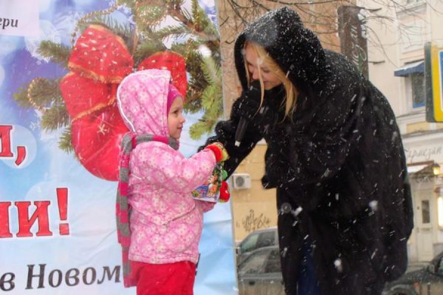 Новогодняя ярмарка открылась в Твери