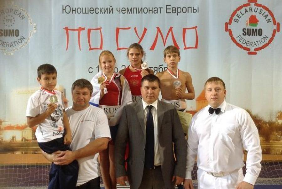 Тверские сумоисты завоевали семь наград на Первенстве Европы