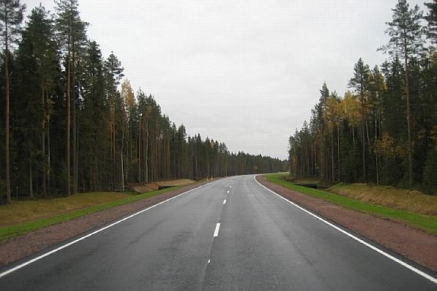 В Кимрском районе отремонтировали дорогу