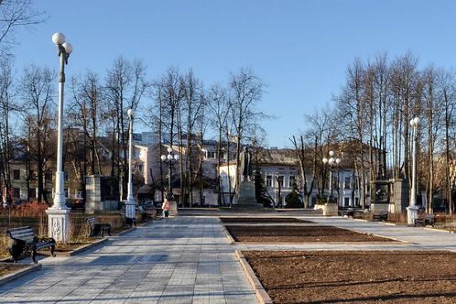 Завершилась реконструкция двух тверских скверов