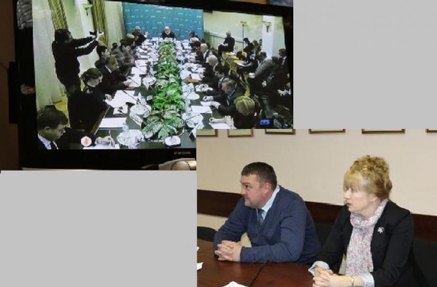 Руководители облизбиркома приняли участие в заседании экспертной группы при председателе ЦИК РФ
