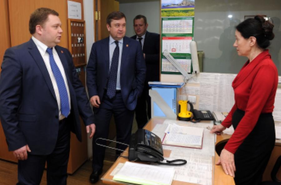 Губернатор встретился с министром ТЭК и ЖКХ Тверской области