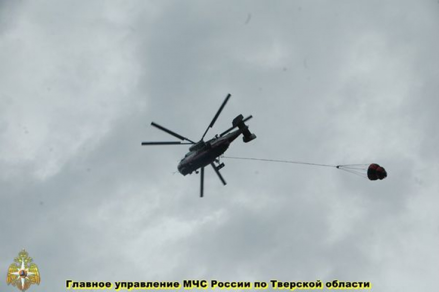 Борьба с природными пожарами продолжается в Тверской области