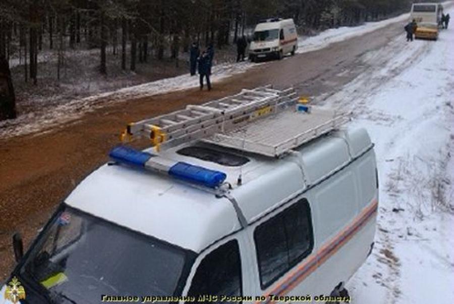 ДТП с участием автобуса произошла в Вышневолоцком районе