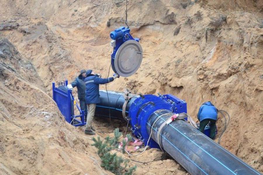 Более полукилометра водовода переложено «Тверь Водоканалом» на Медновском водозаборе