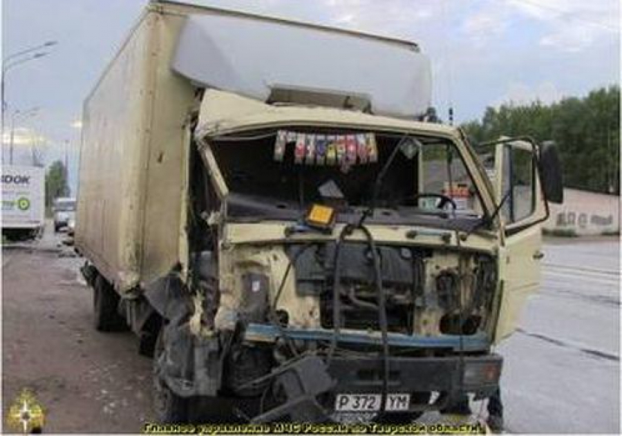 В Эммаусе столкнулись два грузовика