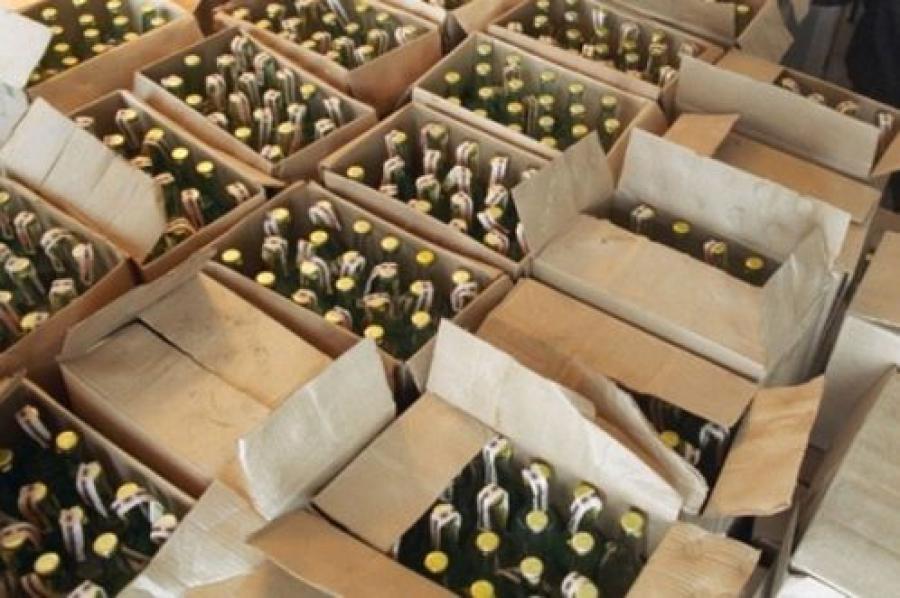 14000 литров виски, текилы, коньяка и водки полицейские отправят на экспертизу