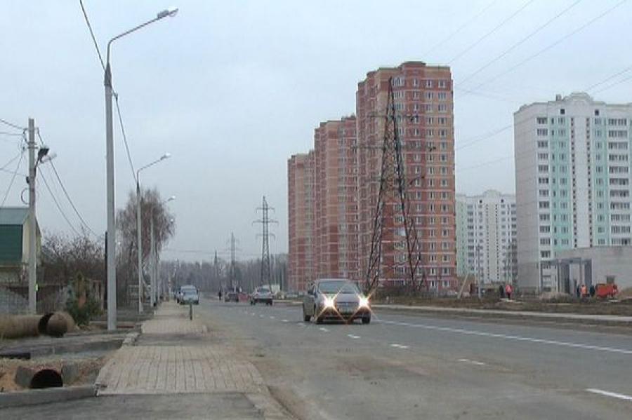 Завершаются работы по строительству автодорог для тверского микрорайона «Радужный»