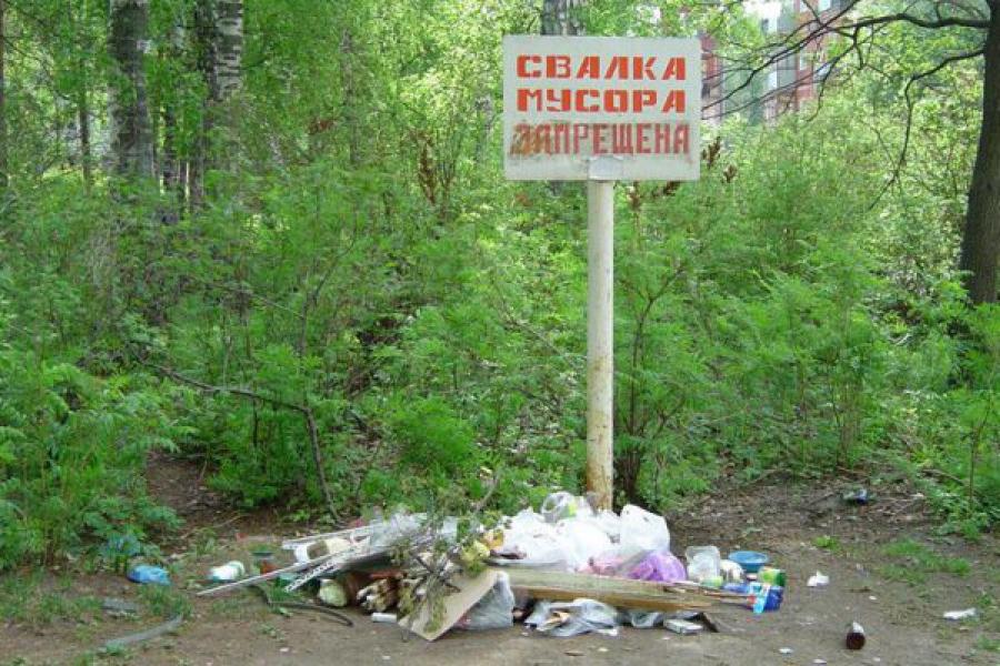 В Заволжском районе за три дня ликвидировали три несанкционированные свалки