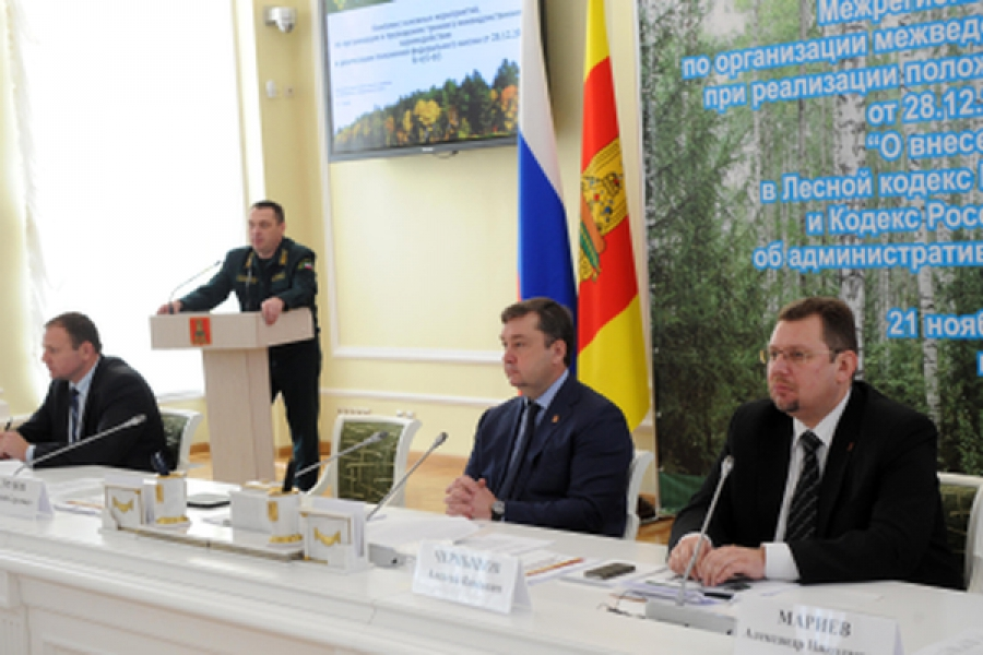 В Твери обсудили защиту лесов от пожаров и незаконных рубок