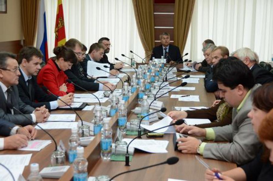 Программа развития региона до 2020 года будет рассмотрена во втором чтении