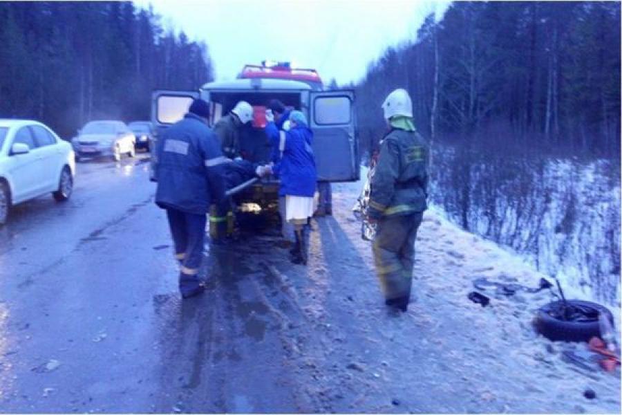 В ДТП в Калязинском районе пострадали люди
