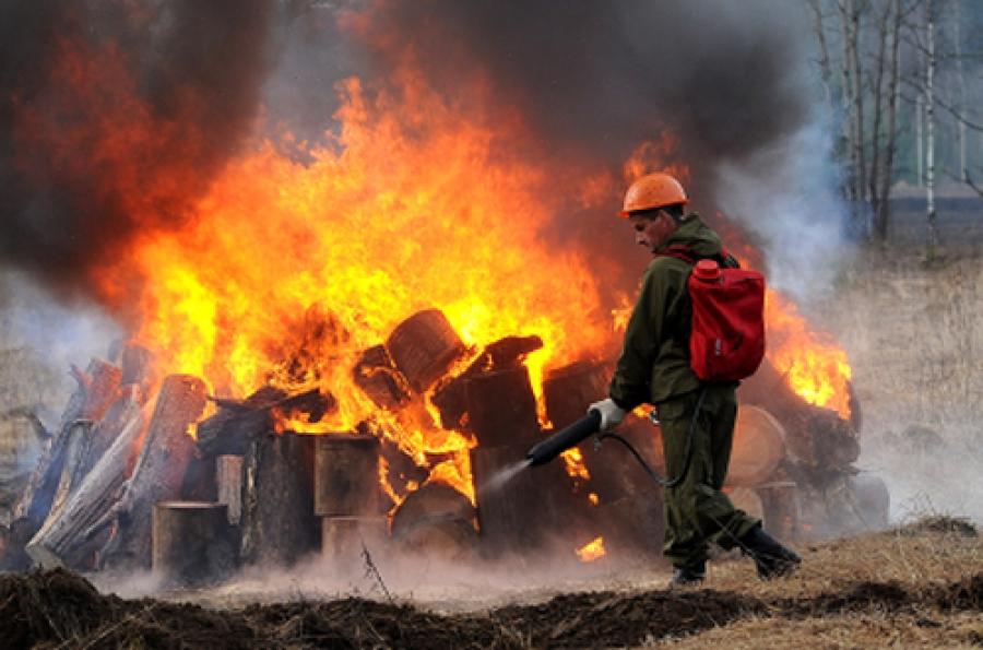 Горячее лето-2014: в регионе готовятся тушить пожары
