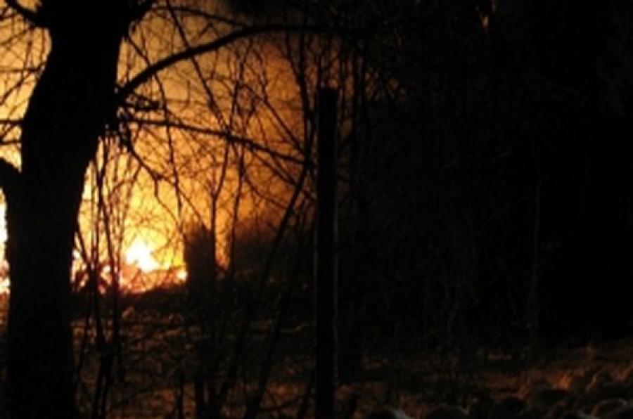 В Тверской области за ночь сгорели два дома