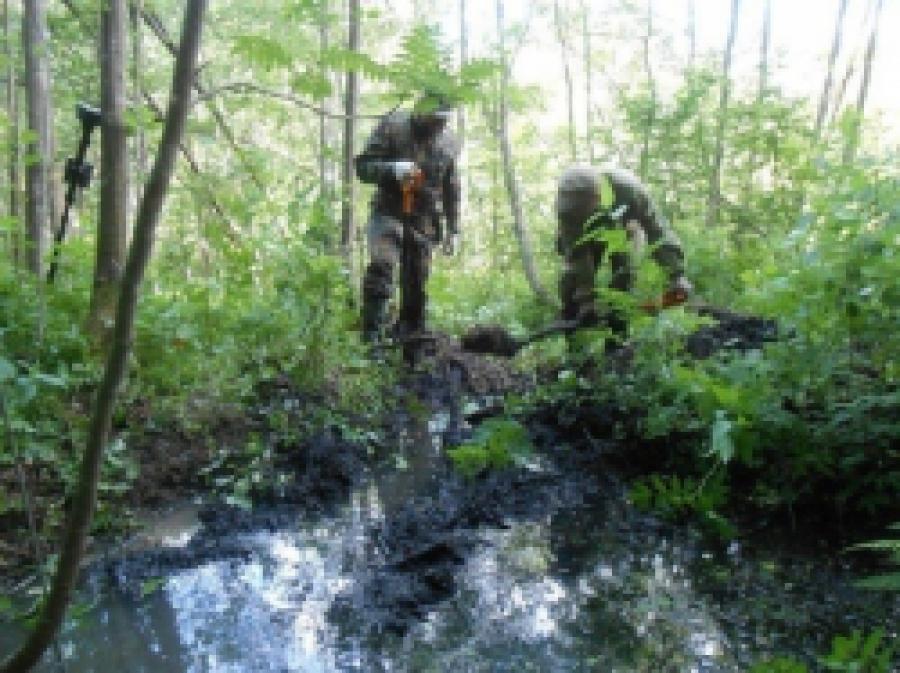 Массовое захоронение советских солдат найдено в Конаковском районе
