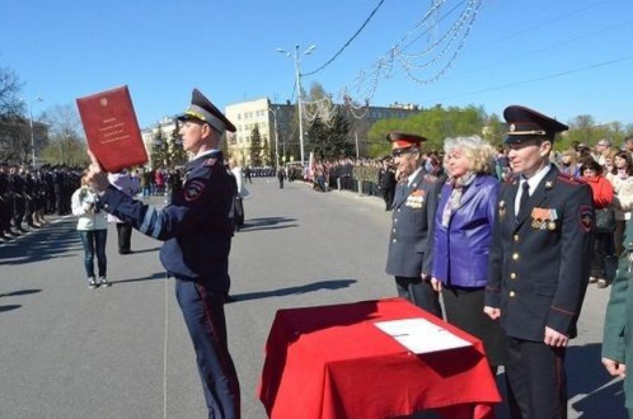 В Твери приняли присягу 165 сотрудников полиции