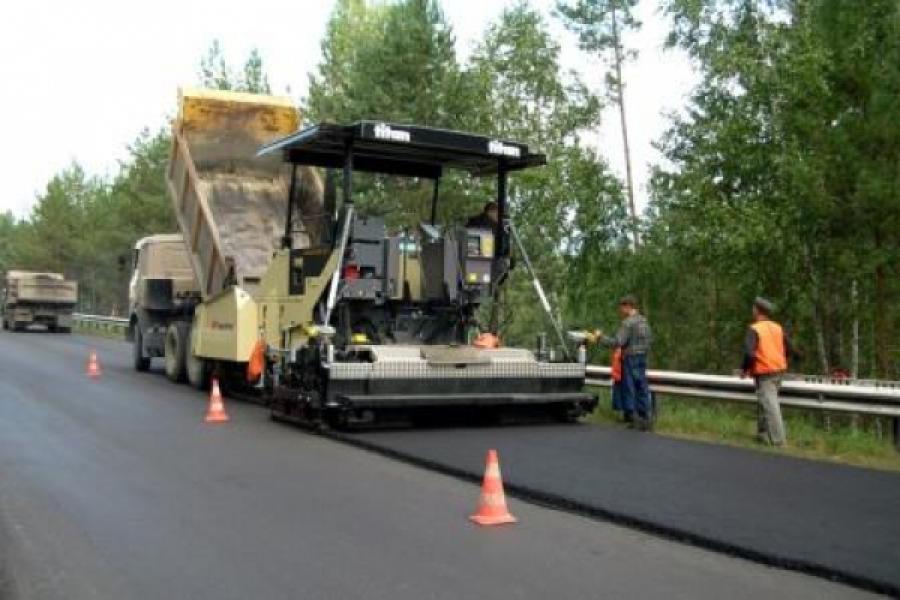 Дороги Тверской области обновляются