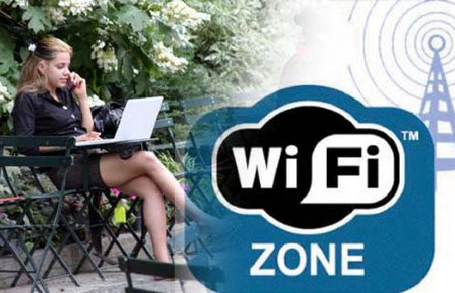 Около Речного вокзала появилась зона свободного Wi-Fi