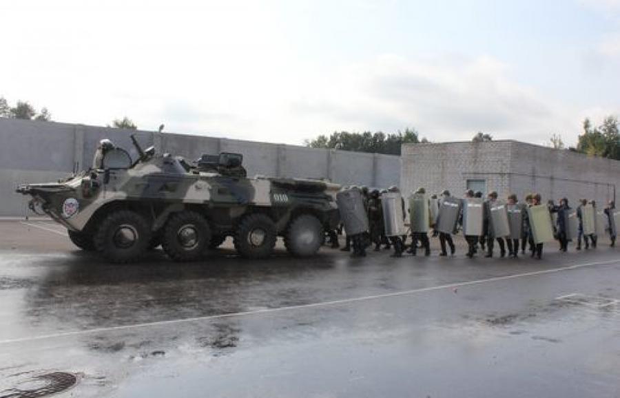 В тверском СИЗО-1 учились бороться с беспорядками и освобождать заложников