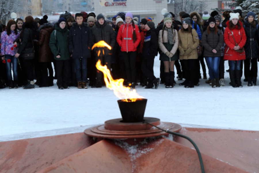 В Нелидове прошел митинг в память об освобождении города от фашистов