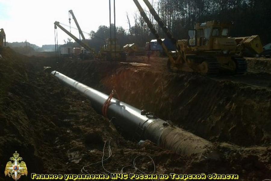 Завершены восстановительные работы на газопроводе в Торжокском районе