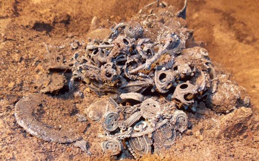 В Твери найден серебряный клад времен Батыева нашествия