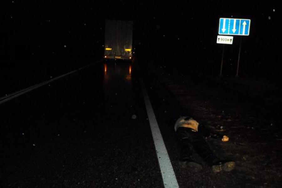 «Фокус» пешехода на неосвещённой дороге привёл к трагедии