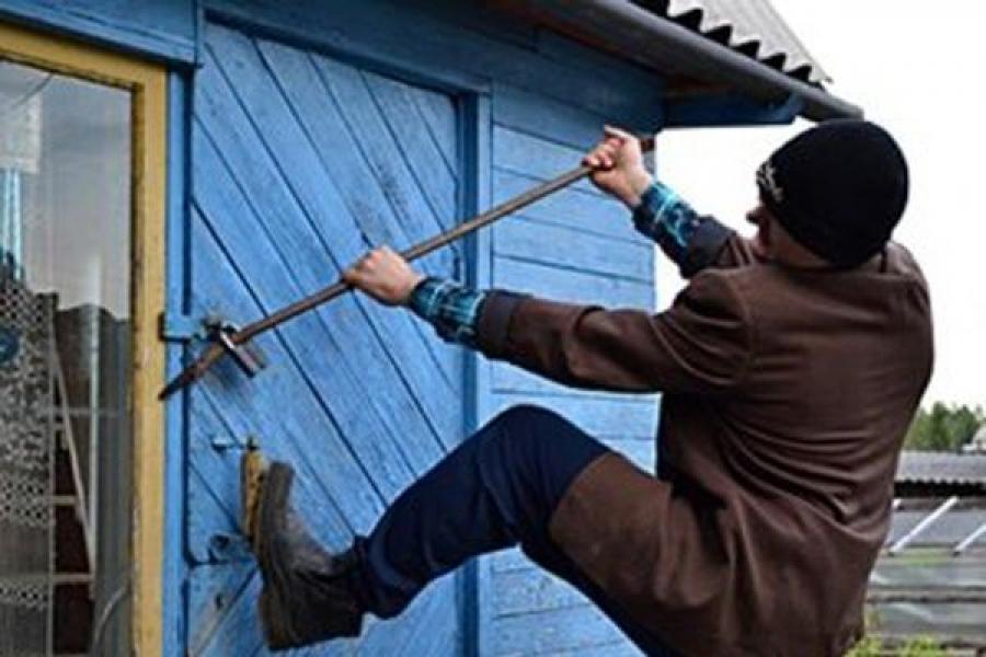 В Тверской области поймали дачного вора