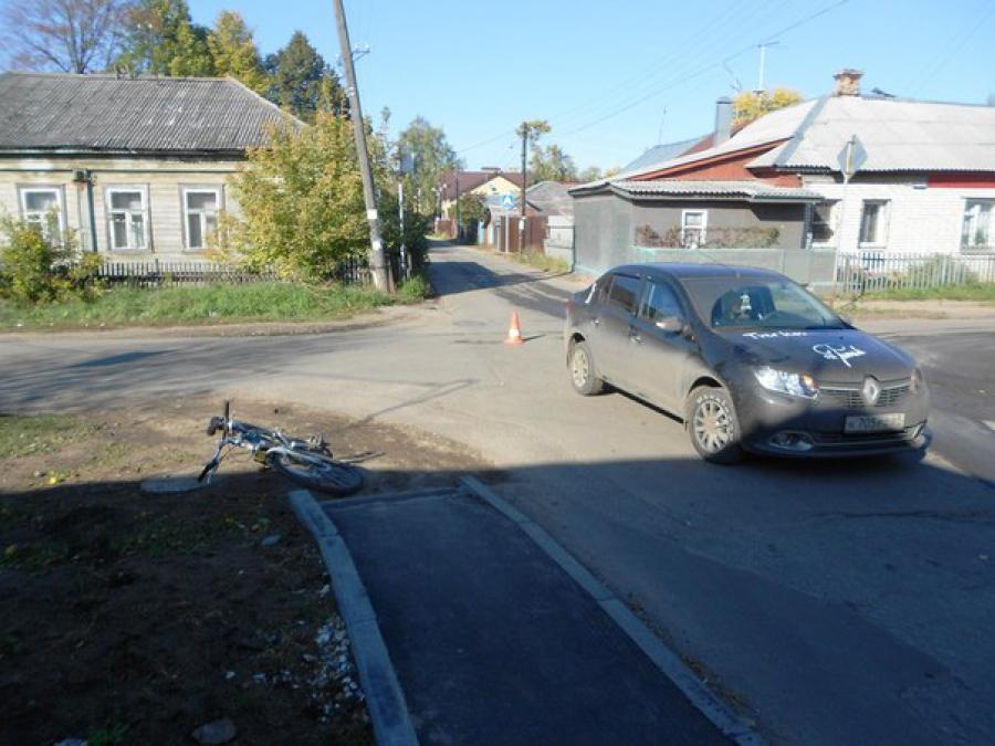 В Твери в ДТП пострадал пожилой велосипедист
