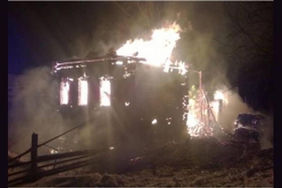 По Тверской области прошла череда пожаров
