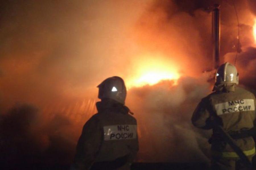 В Нелидове сгорела дача из-за неправильной эксплуатации печки