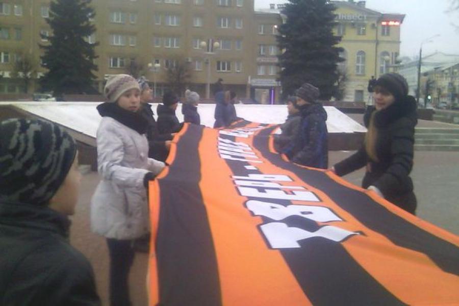В Твери в День Героев России в небо запустили воздушные шары