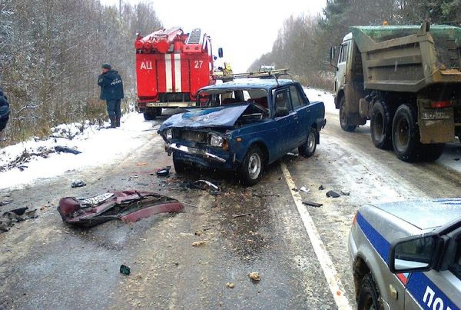 Пожилой водитель погиб в ДТП в Весьегонском районе