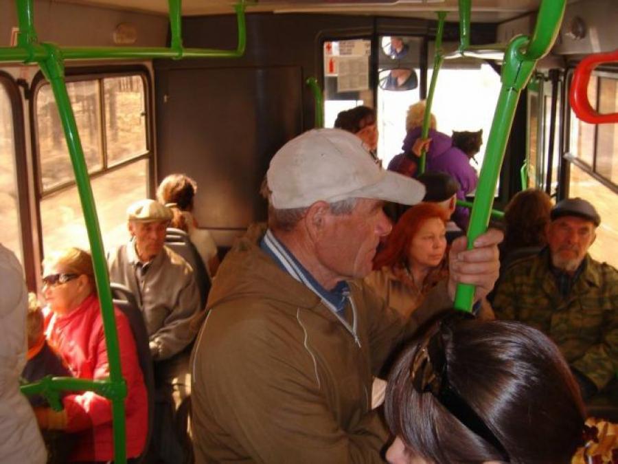 На тверском автобусе №56 можно ездить по ЕСПБ