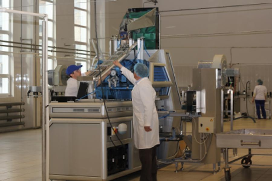 Цех по производству молока открылся в Старице