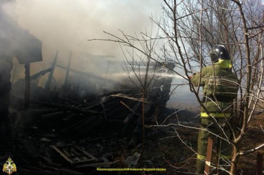 Пожарные уберегли от огня 37 из 45 домов в деревне Спировского района