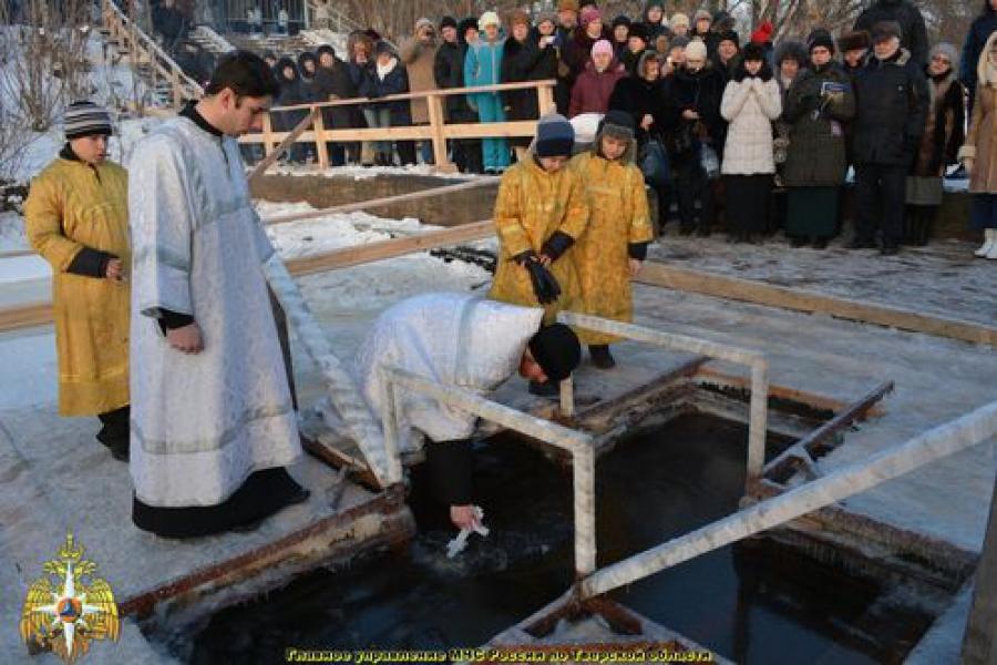 Крещенские купания в Тверской области прошли спокойно