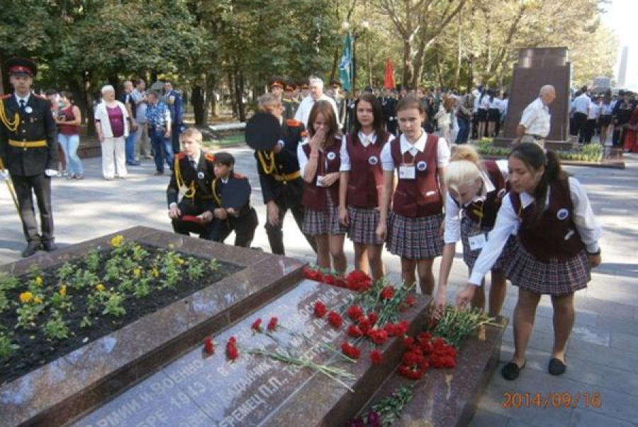 Кадеты Некрасовского детского дома побывали на молодежном форуме в Анапе и Новороссийске