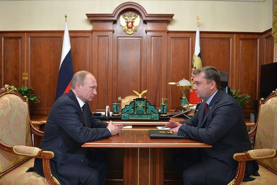 Губернатор отчитался перед Президентом России